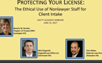Protecting Your License: Ethical Use of Nonlawyer Staff for Client Intake