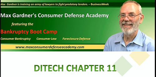 Ditech - What Consumer Bankruptcy Folks Need to Know